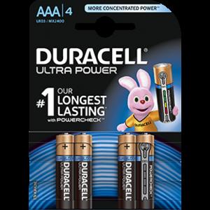 Duracell Duracell Ultra Power MX2400 AAA/LR03 1.5V 4-blister