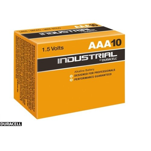 Duracell Duracell Industrial AAA/LR6 1.5V 10-box