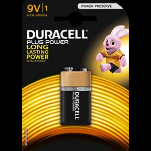 Duracell Duracell Plus Power  6LR61 9V 1-blister