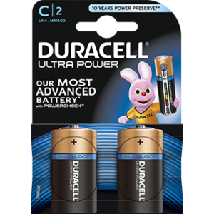 Duracell Duracell Ultra Power MX1400 C/LR14 1.5V 2-blister