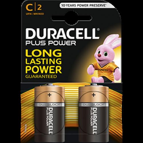 Duracell Duracell Plus Power C/LR14 1.5V 2-blister