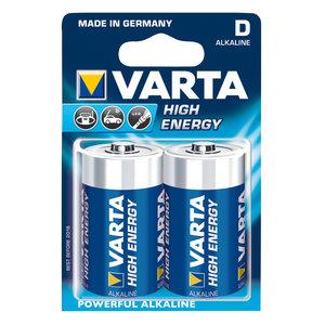Varta Varta High Energy alkaline D/LR20 1.5 V 2-blister