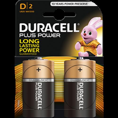 Duracell Duracell Plus Power MN1300  D/LR20 1.5V 2-blister