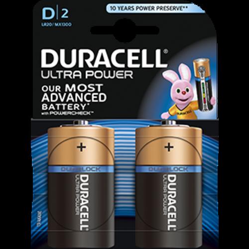 Duracell Duracell Ultra Power MX1300  D/LR20 1.5V 2-blister