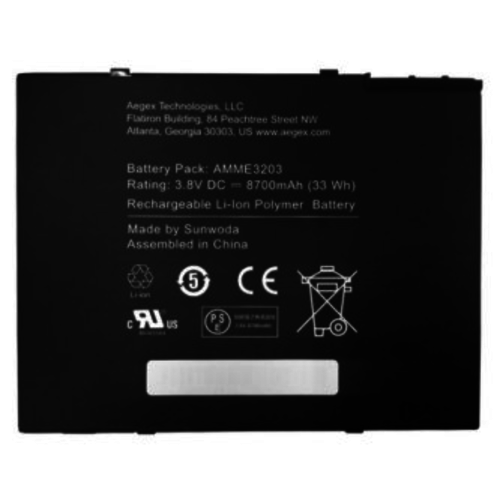 "Aegex Technologies Aegex 10.1"" Tablet Battery"