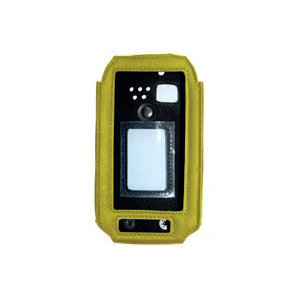 i.safe Mobile i.safe-MOBILE leather case for IS520.x & IS530.x Yellow