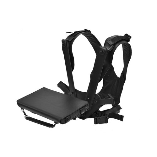Aegex Technologies Aegex Hands-free Tablet Harness, Leather, Two (2) Shoulder (w/ Leather Carrying Case and Tethered Passive Stylus)