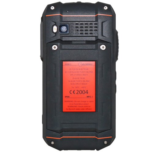 i.safe Mobile i.safe-MOBILE IS530.1 ATEX smartphone Zone 1/21 (zonder camera)