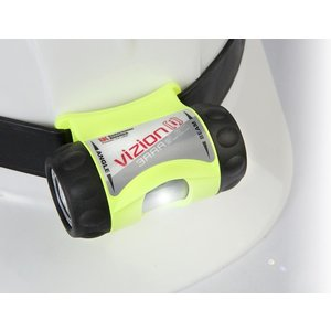 UK Underwater-Kinetics UK Underwater Kinetics 3AAA Yellow Headlamp ATEX-Rubber helmet band