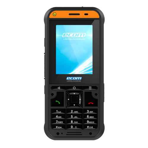 ECOM Instruments ECOM Ex-Handy 10 DZ2  - Zone 2/22 ATEX Featurephone