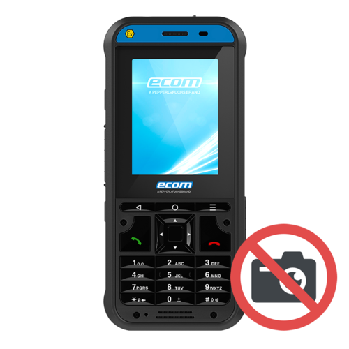 ECOM Instruments ECOM Ex-Handy 10 DZ1  - Zone 1/21 ATEX Featurephone - Zonder camera