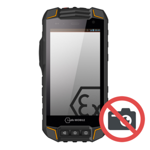 i.safe Mobile i.safe-MOBILE IS520.2 (without camera) ATEX smartphone zone 2/22
