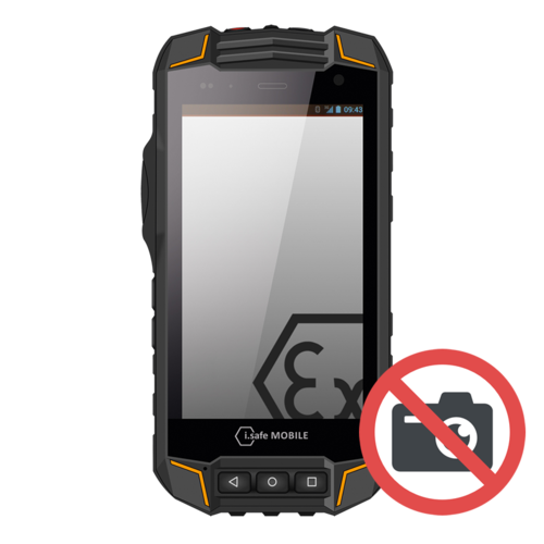 i.safe Mobile i.safe-MOBILE IS520.2 (Zonder camera) ATEX smartphone zone 2/22