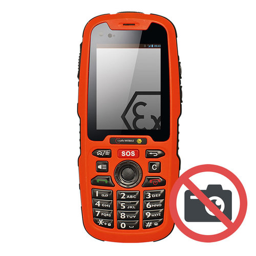 i.safe Mobile i.safe-MOBILE IS320.1 ATEX feature phone Zone 1/21 (zonder camera)