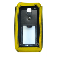 i.safe-MOBILE leather case for IS655.2 yellow