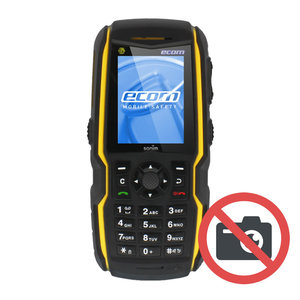 ECOM Instruments ECOM Ex-Handy 08 Geel - Zonder Camera - Feature phone ATEX zone 1/21