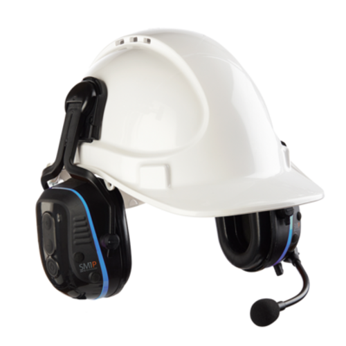 ECOM Instruments ECOM Bluetooth ATEX headset SM1P - Helmetmount