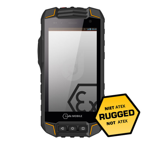 i.safe Mobile i.safe-MOBILE IS530.RG RUGGED Smartphone - Niet ATEX
