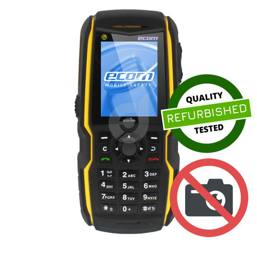 ECOM Instruments ECOM Ex-Handy 08 Geel - Zonder Camera - Feature phone ATEX zone 1/21 - Refurbished