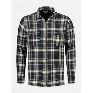 Dstrezzed Shirt Jacket Heavy flannel check