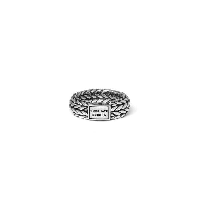 Buddha to Buddha Ellen Ring Silver