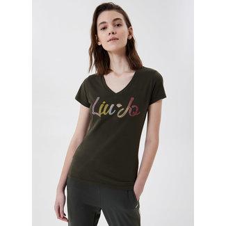 Liu Jo T-Shirt Liu Jo Short Sleeve Strass TA1155