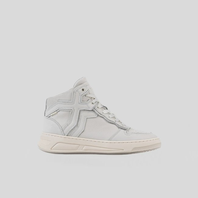 Bronx OLD-COSMO HIGH TOP OFF WHITE