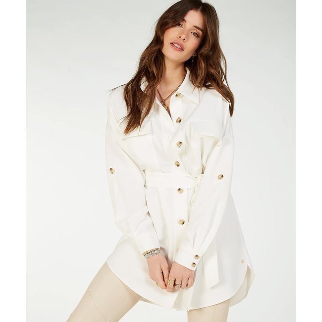 Josh V RENIE BLOUSE WHISPER WHITE