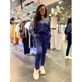 Liu Jo Jersey Jacket Strass TA1186