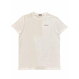 Dsquared2 T-SHIRT LOGO CHEST WHITE