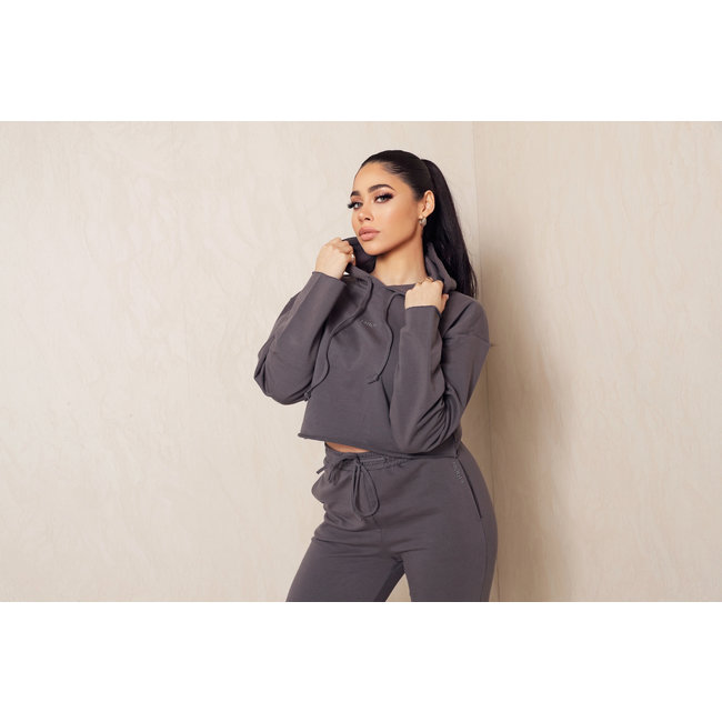 Unique the Label Kim Cropped Hoodie