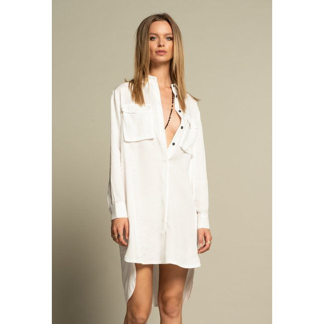 ICONIC 27 BLOUSE/DRESS WHITE