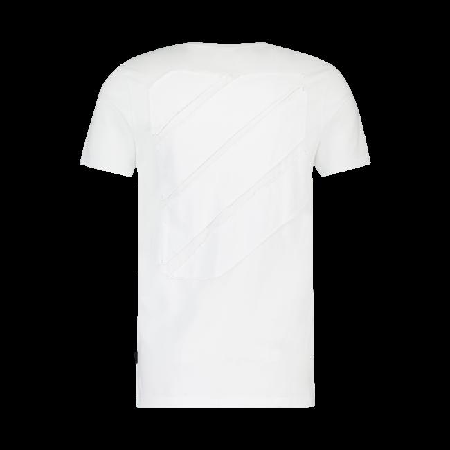 Pure White Side Logo T-shirt WHITE
