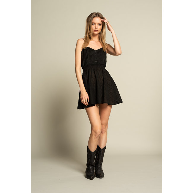 ICONIC 27 BABYDOLL DRESS BLACK