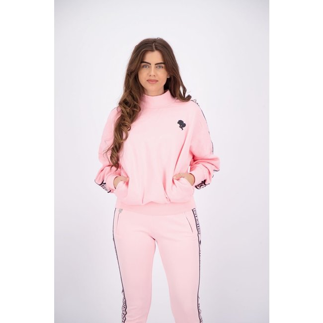 Reinders TRACKING SWEATER W605 BABY PINK