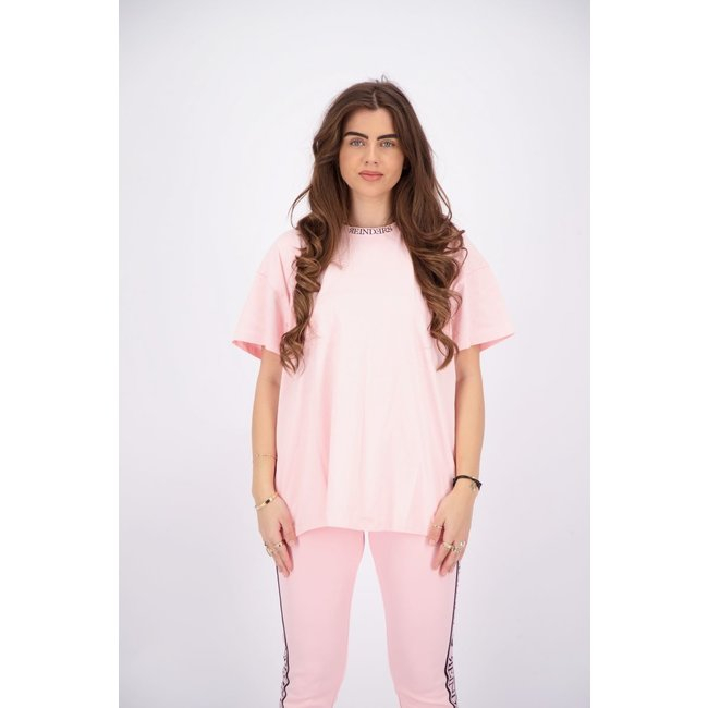 Reinders T-SHIRT OPEN BACK W2349 BABY PINK