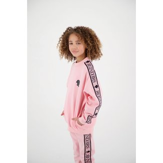 Reinders TRACKING SWEATER GIRLS G605 BABY PINK