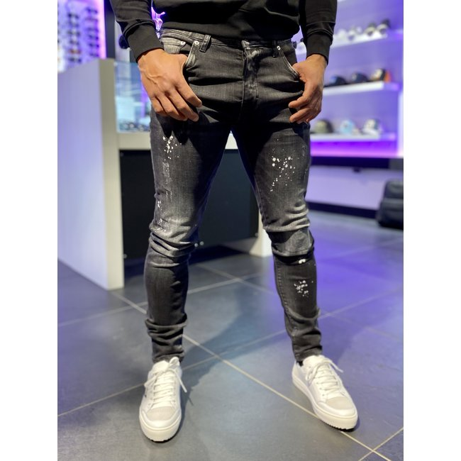 My Brand JEANS WHITE SPOTTED BLACK
