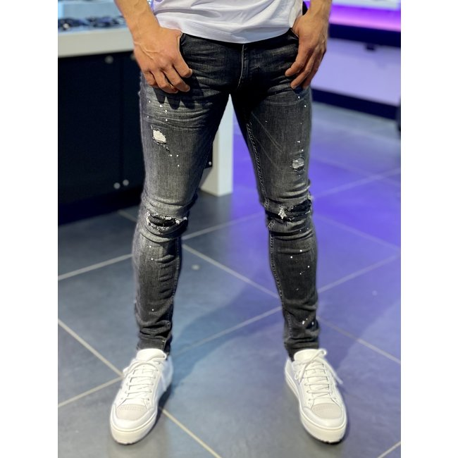 Pure White JEANS The Jone 606 Dark Grey