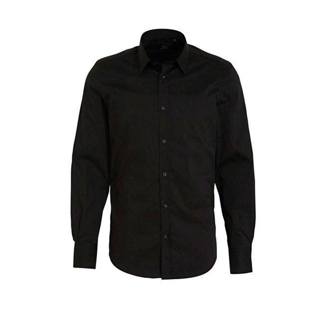 Antony Morato Basic Overhemd Black