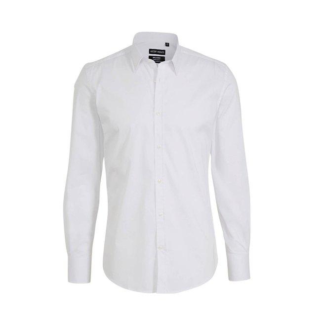 Antony Morato Basic Overhemd White 1