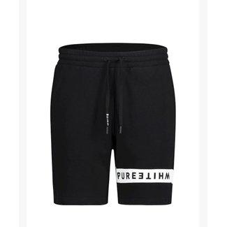 Pure White PW Jogging Short 21010511 Black