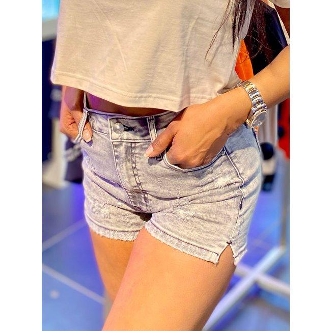 Met jeans JEANS SHORT HEIDI -CB GREY