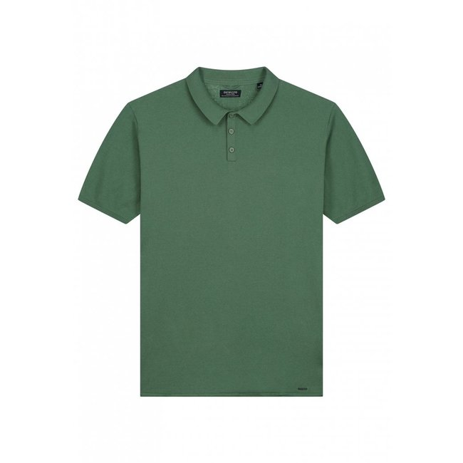 Dstrezzed POLO S/S 405378 COTTON KNIT IVY GREEN