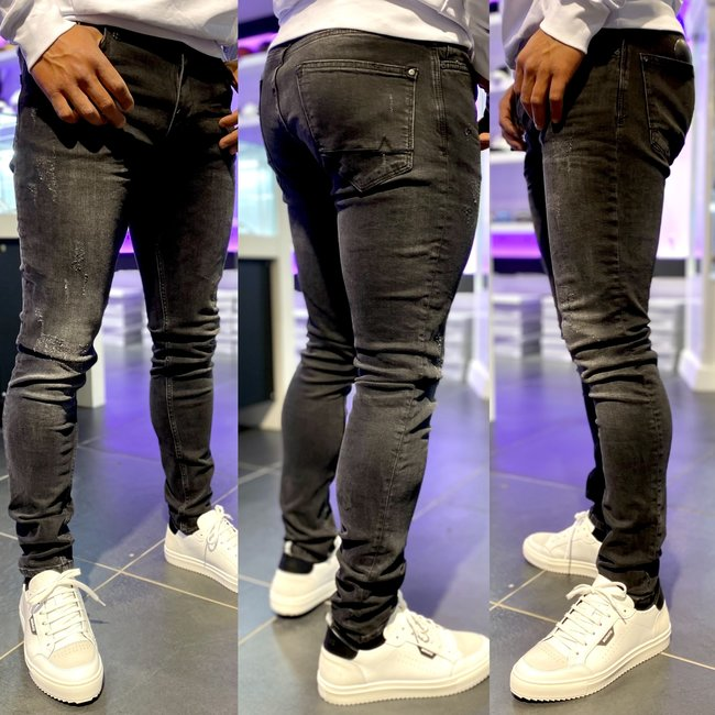 Pure White JEANS The Jone 604 Dark Grey