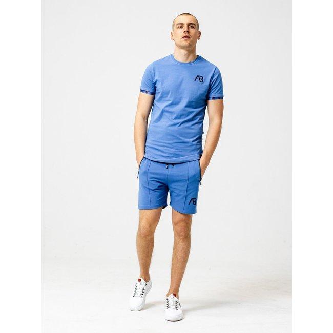 AB Lifestyle T-SHIRT FLAG TEE AMPARO BLUE