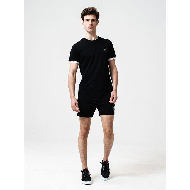 AB Lifestyle T-SHIRT NEW LUIGI TEE BLACK