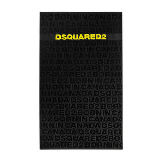 Dsquared2 Beach Towel Army Black/Yellow