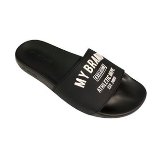 My Brand SLIPPERS VARSITY BLACK