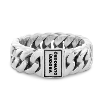 Buddha to Buddha 541 18 - Chain Small Ring Silver